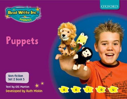 9780198469148: Read Write Inc. Phonics: Non-fiction Set 2 (Purple): Puppets