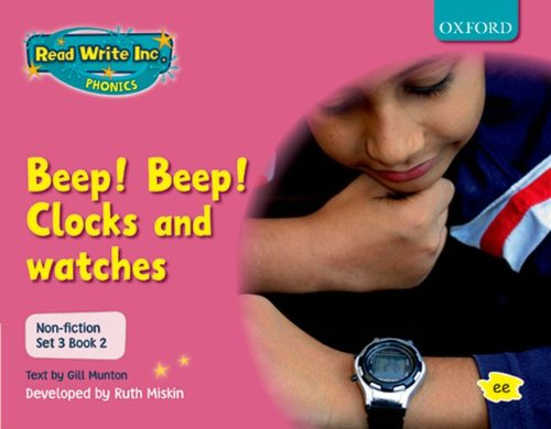 9780198469186: Read Write Inc. Phonics: Non-fiction Set 3 (Pink): Beep! Beep!