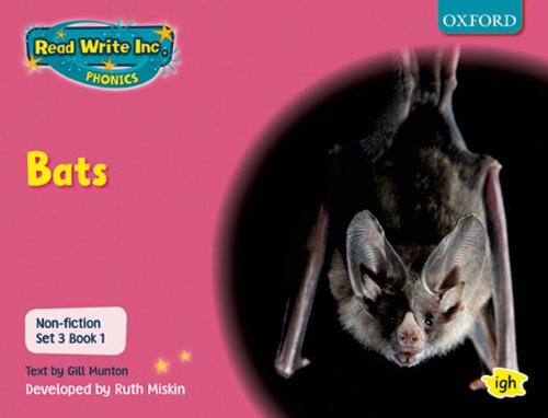 9780198469193: Read Write Inc. Phonics: Non-fiction Set 3 (Pink): Bats
