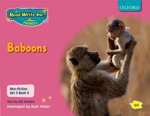 9780198469216: Read Write Inc. Phonics: Non-fiction Set 3 (Pink): Baboons