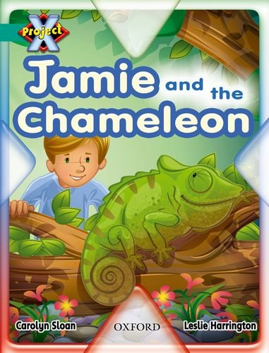 9780198471240: Project X: Hide and Seek: Jamie and the Chameleon