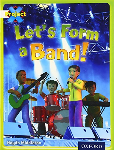 9780198471790: Project X: Working as a Team: Let's Form a Band