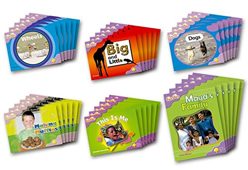 9780198472537: Oxford Reading Tree: Level 1+: Fireflies: Class Pack (36 books, 6 of each title)