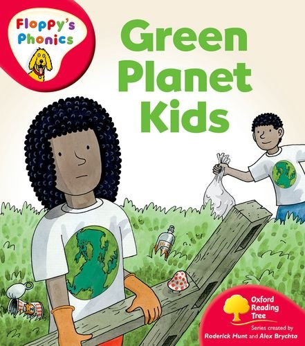 9780198478447: Oxford Reading Tree: Stage 4: More Floppy's Phonics: Green Planet Kids