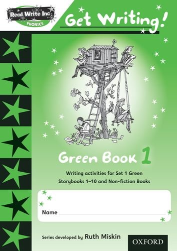 9780198478966: Read Write Inc. Phonics: Get Writing!: Green 1 Pack of 10 New Edition