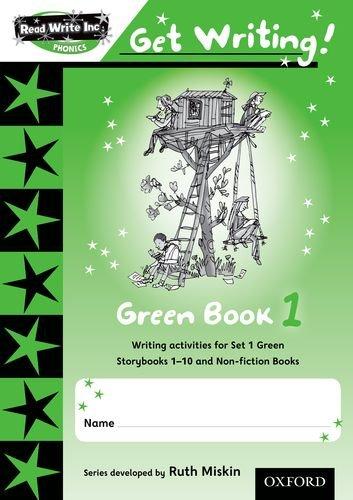 9780198478973: Read Write Inc. Phonics: Get Writing!: Green Book 1