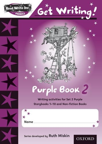 9780198478980: Read Write Inc. Phonics: Get Writing!: Purple 2 Pack of 10 New Edition