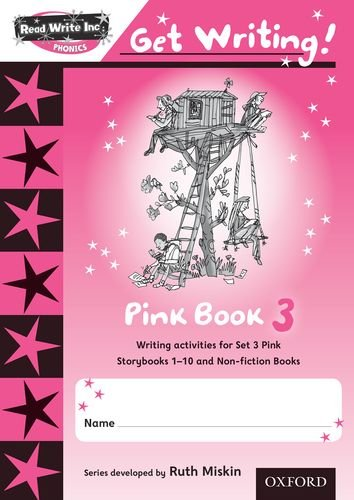 9780198479000: Read Write Inc. Phonics: Get Writing!: Pink 3 Pack of 10 New Edition