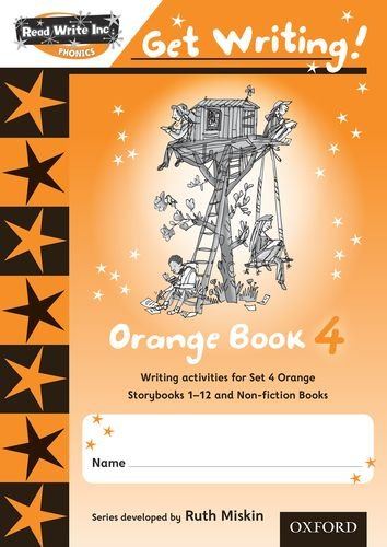 9780198479024: Read Write Inc. Phonics: Get Writing!: Orange 4 Pack of 10 New Edition