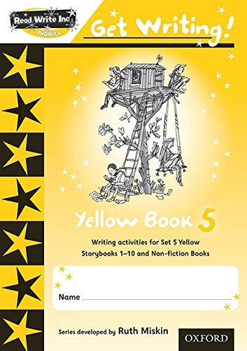 9780198479048: Read Write Inc. Phonics: Get Writing!: Yellow 5 Pack of 10 New Edition