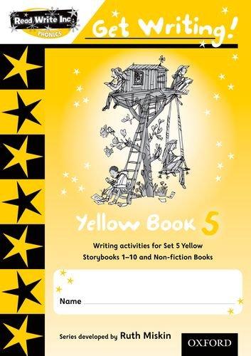 9780198479055: Read Write Inc. Phonics: Get Writing!: Yellow Book 5