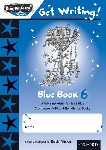 9780198479062: Read Write Inc. Phonics: Get Writing!: Blue 6 Pack of 10