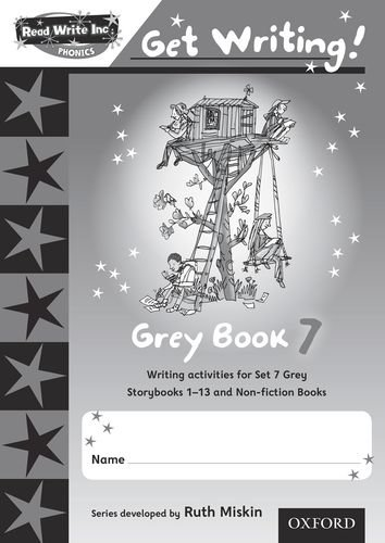 9780198479086: Read Write Inc. Phonics: Get Writing!: Grey 7 Pack of 10