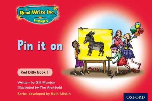 9780198479109: Read Write Inc. Phonics: Red Ditty Books Mixed Pack of 10 New Edition