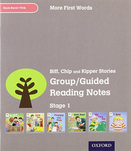 9780198480600: Oxford Reading Tree: Level 1: More First Words: Group/Guided Reading Notes