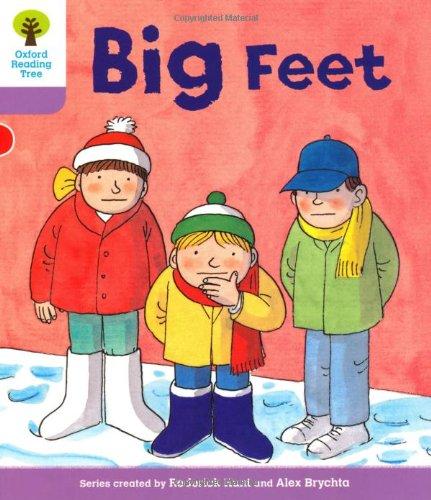 9780198480655: Oxford Reading Tree: Level 1+: First Sentences: Big Feet