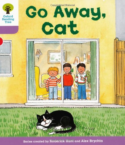9780198480730: Oxford Reading Tree: Level 1+: More First Sentences A: Go Away Cat
