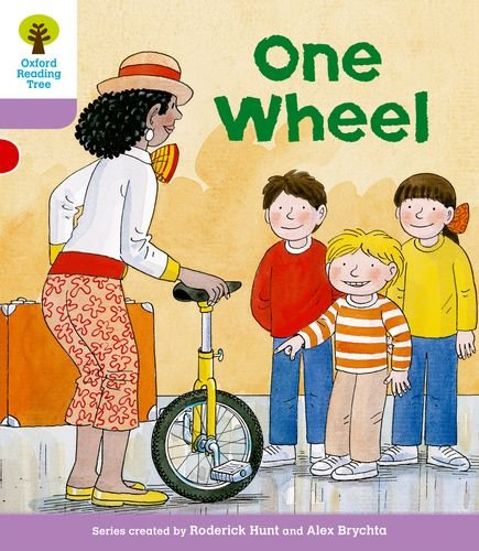 9780198480860: Oxford Reading Tree: Level 1+: More First Sentences B: One Wheel