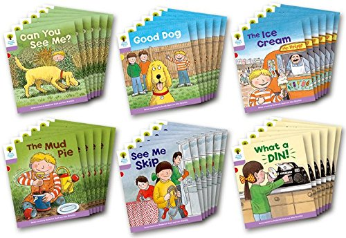 9780198480891: Oxford Reading Tree Stage 1+: More First Sentences C: Class Pack of 36