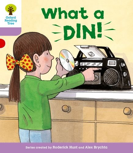 9780198480938: What a Din!. Roderick Hunt, Gill Howell (Oxford Reading Tree)