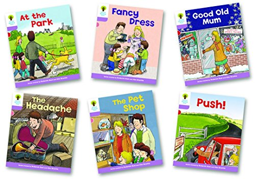 9780198480976: Oxford Reading Tree: Level 1+: Patterned Stories: Pack of 6
