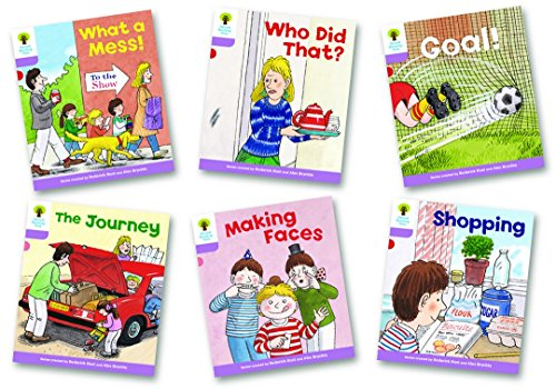 9780198481065: Oxford Reading Tree Stage 1+: More Patterned Stories: Pack of 6