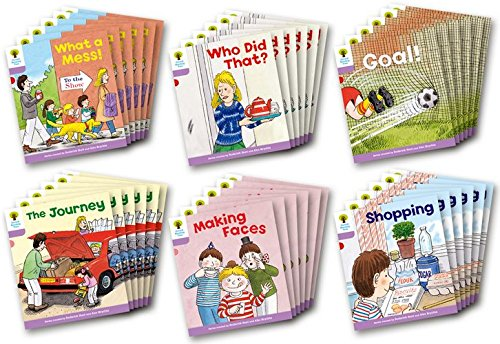 9780198481072: Oxford Reading Tree: Level 1+: More Patterned Stories: Class Pack of 36