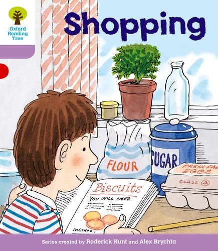 9780198481089: Oxford Reading Tree: Level 1+: More Patterned Stories: Shopping