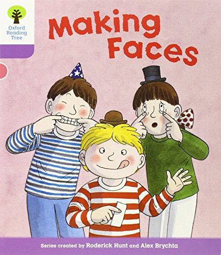 9780198481102: Oxford Reading Tree: Level 1+: More Patterned Stories: Making Faces (Ort More Patterned Stories)