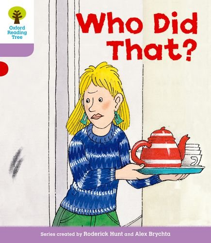9780198481133: Oxford Reading Tree: Level 1+: More Patterned Stories: Who Did That?