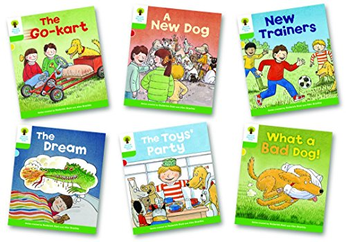 Oxford Reading Tree: Stage 2: Stories: Pack of 6: Hunt, Roderick