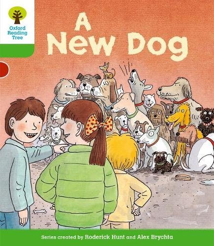 9780198481218: A New Dog. Roderick Hunt, Thelma Page (Oxford Reading Tree)