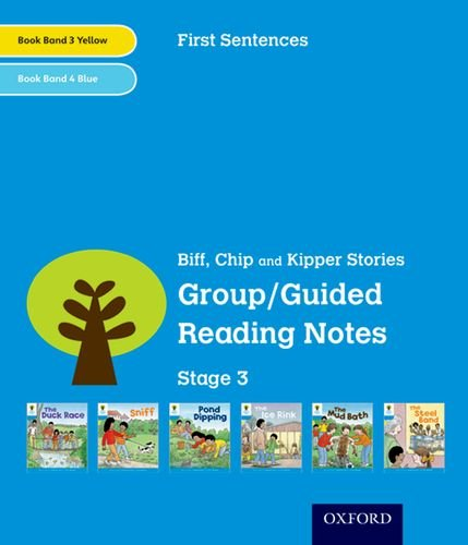 9780198481867: Oxford Reading Tree: Level 3: First Sentences: Group/Guided Reading Notes