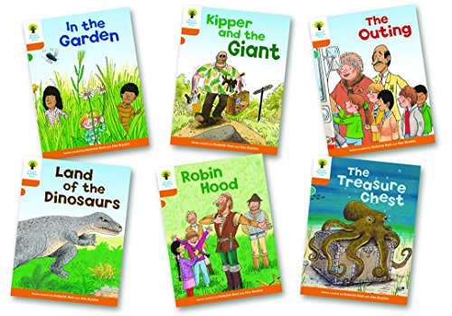 9780198482772: Oxford Reading Tree Biff, Chip and Kipper Level 6. Stories: Mixed Pack of 6