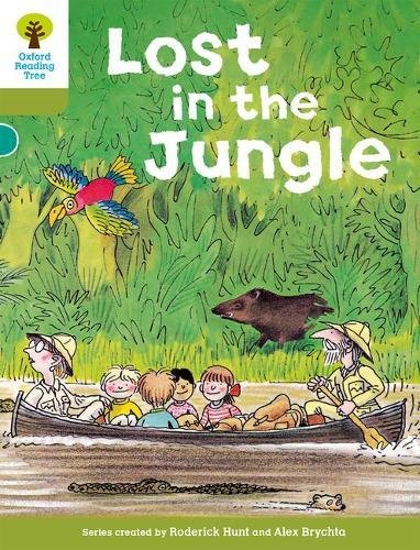 9780198483076: Oxford Reading Tree: Level 7: Stories: Lost in the Jungle