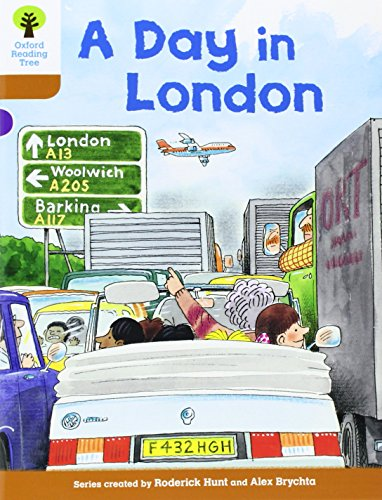 9780198483359: Oxford Reading Tree: Level 8: Stories: A Day in London
