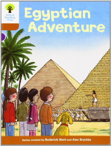 9780198483427: Oxford Reading Tree: Level 8: More Stories: Egyptian Adventure