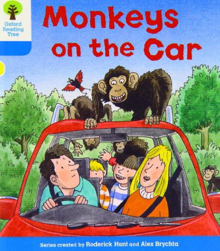 9780198483991: Oxford Reading Tree: Level 3: Decode and Develop: Monkeys on the Car