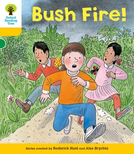 9780198484165: Oxford Reading Tree: Level 5: Decode and Develop Bushfire!