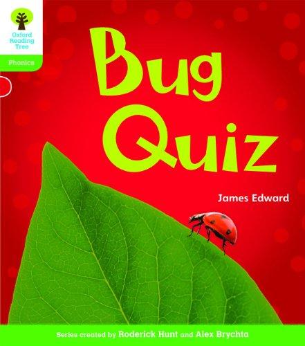 9780198484417: Oxford Reading Tree: Level 2: Floppy's Phonics Non-Fiction: Bug Quiz