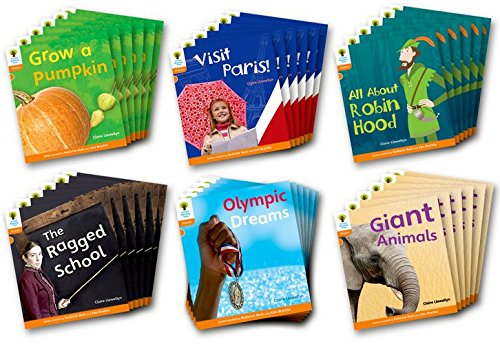 Oxford Reading Tree: Level 6: Floppy s Phonics Non-Fiction: Class Pack of 36 (Paperback): Claire ...
