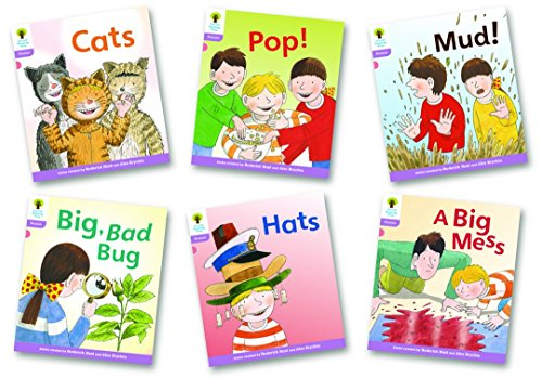 9780198484974: Stage 1+: Floppy's Phonics Fiction: Pack of 6 (Oxford Reading Tree: Stage 1+ Floppy's Phonics Fiction)