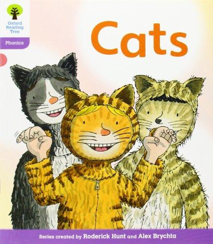9780198484998: Oxford Reading Tree: Level 1+: Floppy's Phonics Fiction: Cats