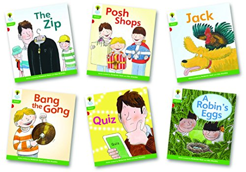 9780198485063: Oxford Reading Tree: Level 2: Floppy's Phonics Fiction: Pack of 6