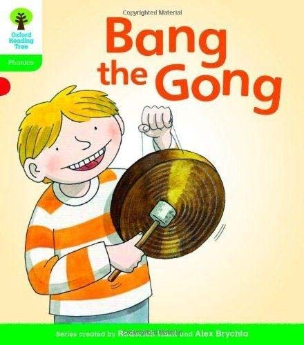 9780198485100: Oxford Reading Tree: Level 2: Floppy's Phonics Fiction: Bang the Gong
