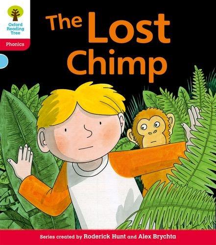 9780198485285: Oxford Reading Tree: Level 4: Floppy's Phonics Fiction: The Lost Chimp