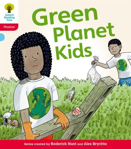 9780198485308: Oxford Reading Tree: Level 4: Floppy's Phonics Fiction: Green Planet Kids