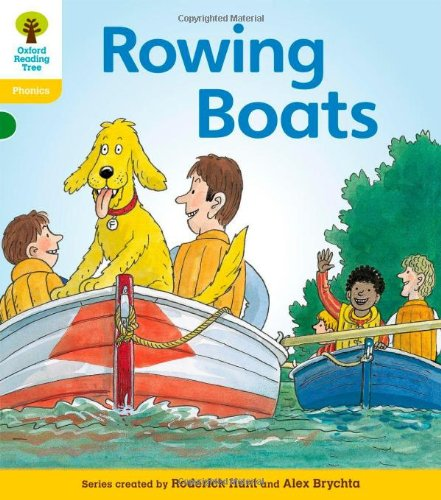 9780198485384: Oxford Reading Tree: Level 5: Floppy's Phonics Fiction: Rowing Boats