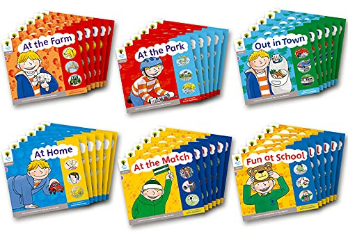 9780198485483: Oxford Reading Tree: Level 1: Floppy's Phonics: Sounds and Letters: Class Pack of 36