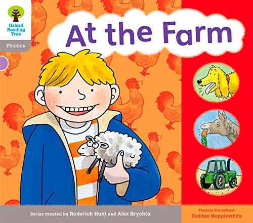 9780198485490: Oxford Reading Tree: Level 1: Floppy's Phonics: Sounds and Letters: At the Farm